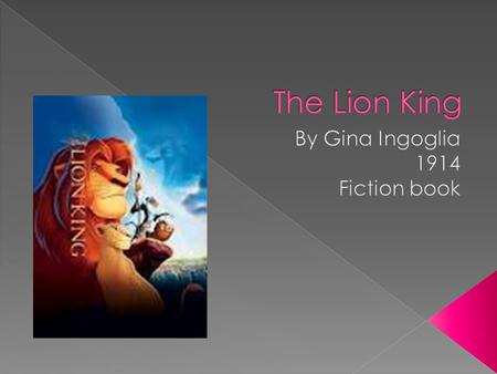 monomyth lion king Create your own monomyth  star trek, the lion king, harry potter, groundhog  but have you ever considered the role of storytelling in motivating your own.