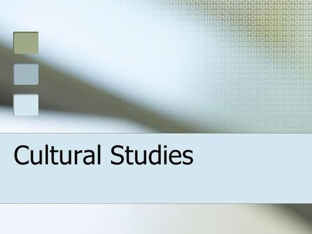 Cultural Studies. Definitions of Cultural Studies First, cultural studies transcends the confines of a particular discipline such as literary criticism.
