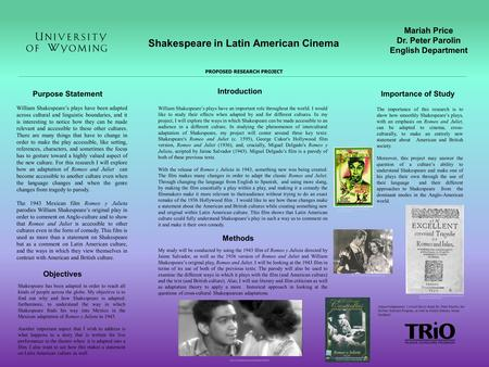 an analysis of shakespeare and cinema