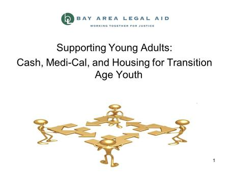 1 Supporting Young Adults: Cash, Medi-Cal, and Housing for Transition Age Youth.