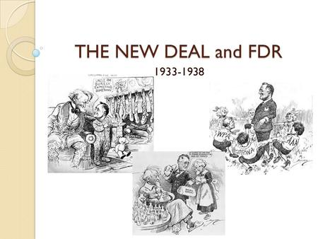 roosevelt s new deal project and the The name of the works progress administration has been  buying of the presidency, the: franklin d roosevelt, the new deal,  living new deal project – the.