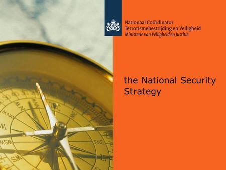 The National Security Strategy. Vital interests Threats Resilience.
