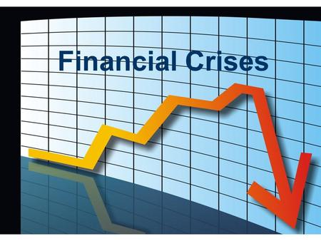 Financial Crises. In this section, you will learn:  common features of financial crises  how financial crises can be self-perpetuating  various policy.