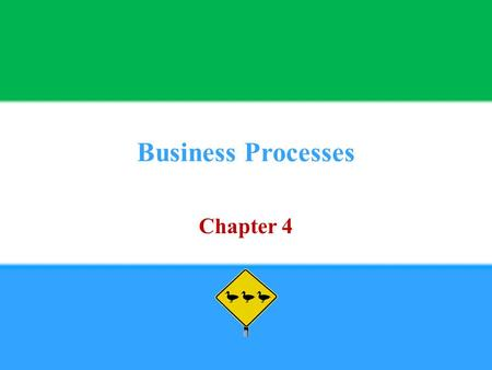 Business Processes Chapter 4. Copyright © 2013 Pearson Education, Inc. publishing as Prentice Hall4 - 2 1. Define Process.