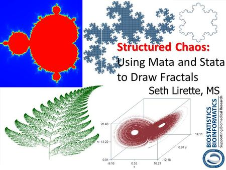Structured Chaos: Using Mata and Stata to Draw Fractals
