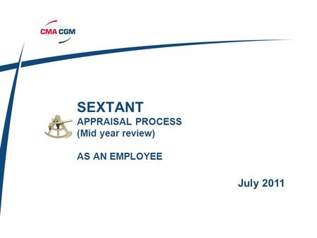 SEXTANT APPRAISAL PROCESS (Mid year review) AS AN EMPLOYEE