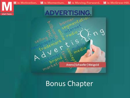 Bonus Chapter Arens|Schaefer|Weigold. Learning Objectives Specify key responsibilities in managing ad production Review the processes for producing print.