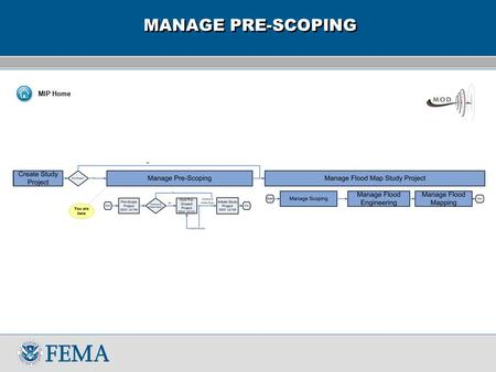 "MANAGE PRE-SCOPING MIP Home. Manage Pre-Scoping/SS03 SS03 ""Pre-scope project: Pre-scoping checklist""  This is the pre-scoping checklist. The goal of."