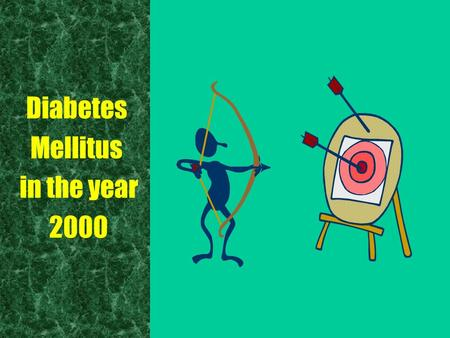 Diabetes Mellitus in the year 2000. Diabetes Mellitus in the year 2000 Report of the Expert Committee on the Diagnosis and Classification of Diabetes.