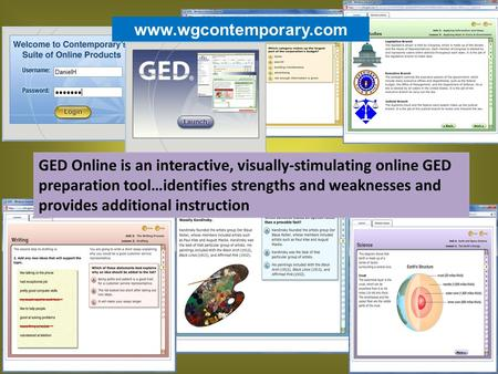"Www.wgcontemporary.com. Before you begin: Check the ""System Requirements"" and run the test to check for compatibility."