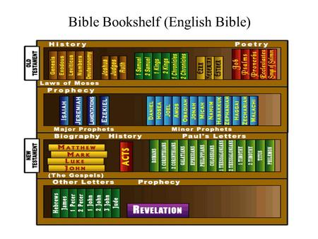 Bible Bookshelf (English Bible)