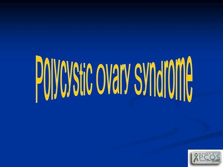 PCOS Polycystic ovary syndrome is a relatively common clinical disorder that affects 5-10% of women in the reproductive age group Polycystic ovary syndrome.