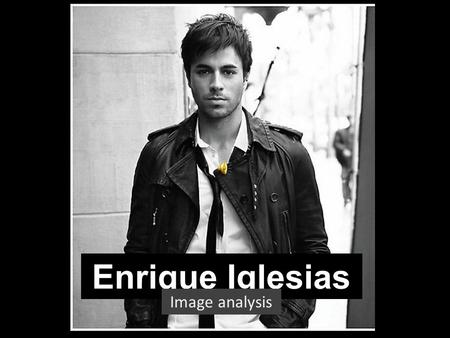 Enrique Iglesias Image analysis 1
