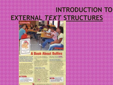 Introduction to External Text Structures