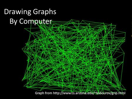 Ziting (Vivien) Zhou1 Drawing Graphs By Computer Graph from