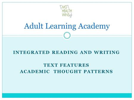 Adult Learning Academy