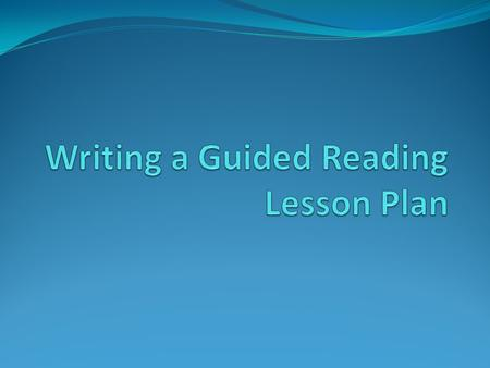 What is Guided Reading? Guided reading is a framework where the teacher supplies whatever assistance or guidance students need in order for them to read.