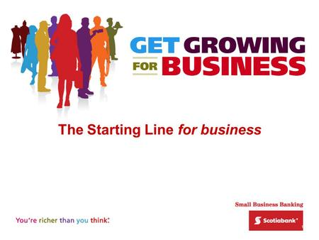 1 The Starting Line for business. 2 Successful entrepreneurs are: Ambitious…want more out of life Motivated…to achieve goals Passionate… about what they.