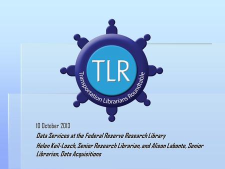 Data Services at the Federal Reserve Research Library