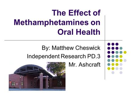 an introduction to methamphetamines Brief introduction:  best of all, if after reading an e-book, you buy a paper version of tweak: growing up on methamphetamines read the book on paper.