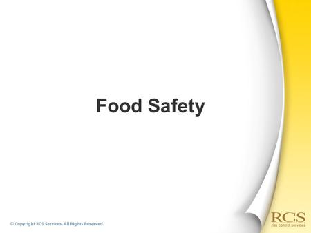 Food Safety. Foodborne Diseases  What is a Foodborne Disease?  There are more than 250 different foodborne diseases, most of the diseases are infections.
