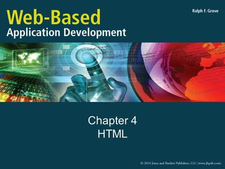 Chapter 4 HTML. Objectives Explain how HTML/XHTML are used and describe the difference between them Interpret HTML code Explain how HTML Forms are used.