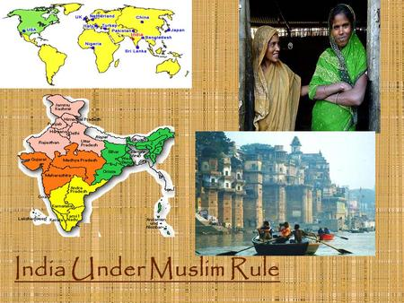 India Under Muslim Rule. I. Delhi Sultans (rulers) 1. Turkish Muslims (1200AD) a. Conquered northern India b. Capital City = Delhi c. Treated Hindus harshly.