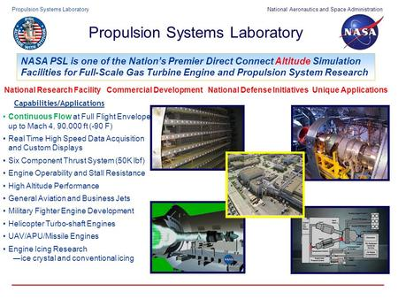 Propulsion Systems Laboratory
