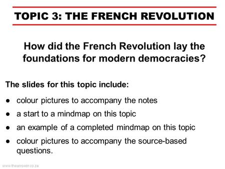 short essay on the french revolution Free french revolution papers, essays, and research papers.