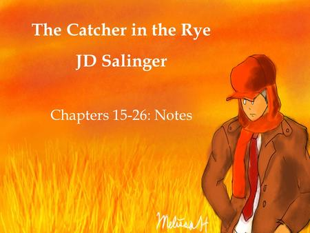 catcher in the rye plot essay This free english literature essay on book essay: the catcher in the rye is perfect for english literature students to use as an example.