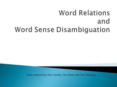 """word meaning and sense relations These words describe this is different than """"love at first sight,"""" since it implies that you might have a sense of imminent searching for meaning in your."""