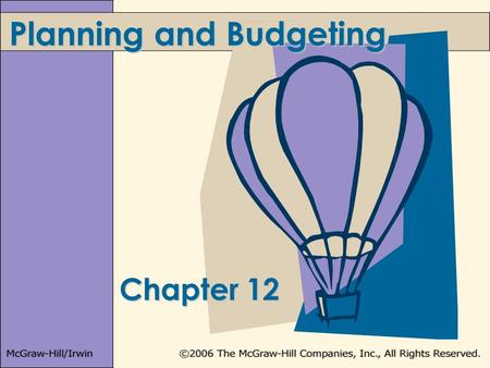importance of master budget Preparing a master budget every year in the budgeting process is the best way to operate a business the master budget includes the operating budget.