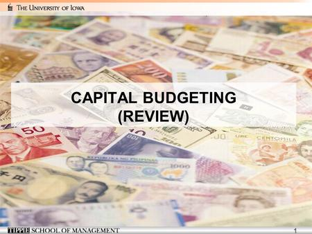 1 CAPITAL BUDGETING (REVIEW). 2 3 Revenue and Cost Estimates Example  Linksys has completed a $300,000 feasibility study to assess the attractiveness.