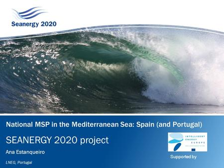 National MSP in the Mediterranean Sea: Spain (and Portugal)