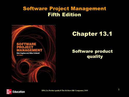 Software Project Management Fifth Edition