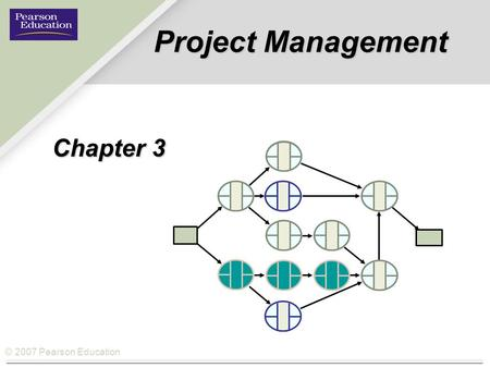 © 2007 Pearson Education Project Management Chapter 3.