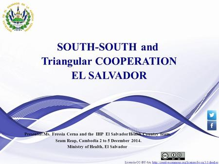 Licencia CC-BY-SA:  SOUTH-SOUTH and Triangular.