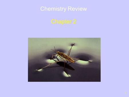 1 Chemistry Review Chapter 2. 2 Outline Structure of Atoms Isotopes – Radioactive Isotopes Electrons and Chemical Behavior Chemical Bonds – Ionic versus.