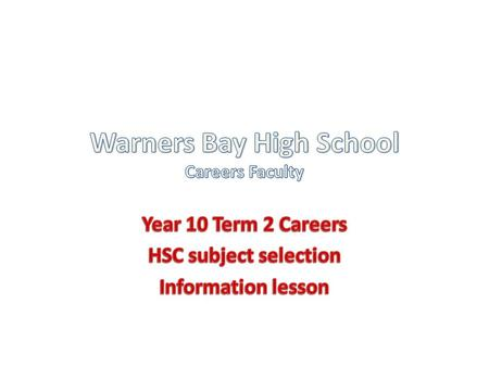 Year 10 Workforce /TAFEROSA Yr 12 (28 hrs /week) (Record of School Achievement) Workforce TAFE University Workforce.