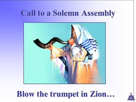 Call to a Solemn Assembly