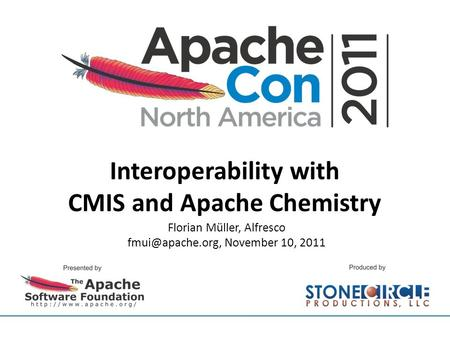 Interoperability with CMIS and Apache Chemistry