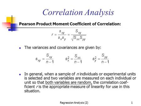 Regression Analysis (2)