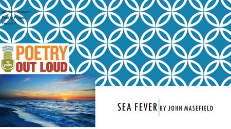 Sea fever by john Masefield
