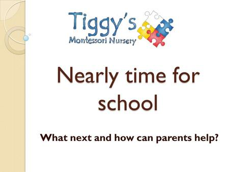 What next and how can parents help?