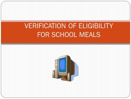 VERIFICATION OF ELIGIBILITY FOR SCHOOL MEALS. IT'S ALMOST VERIFICATION TIME IN TENNESSEE!!