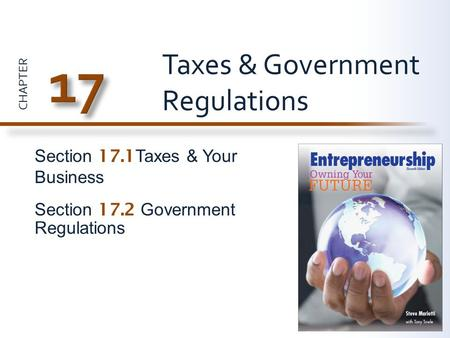 Taxes & Government Regulations