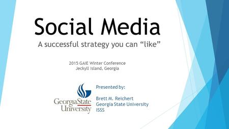 "A successful strategy you can ""like"""
