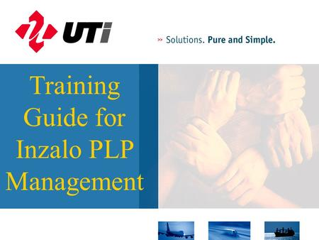PLP Guide1 Training Guide for Inzalo PLP Management.