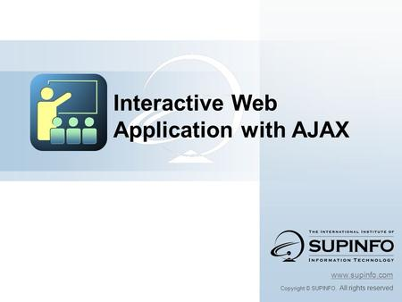 Interactive Web Application with AJAX
