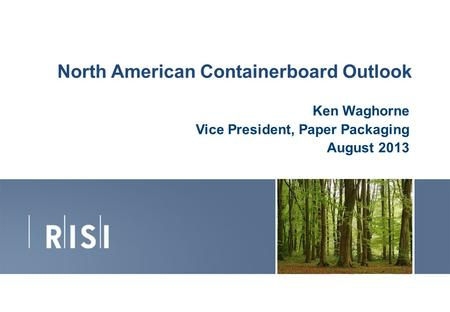 North American Containerboard Outlook